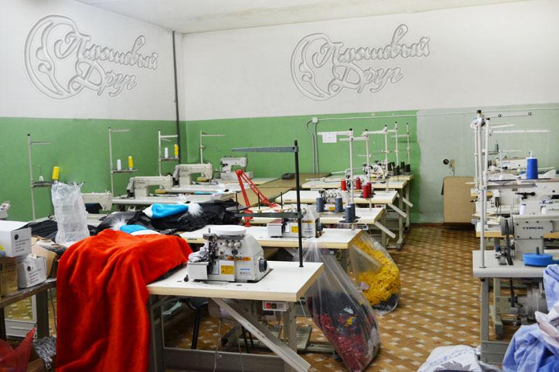 производственное помещение пошива мягких игрушек